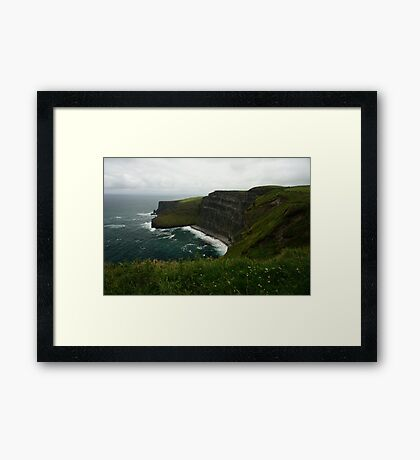 The Wall (Cliffs of Moher)  Framed Print