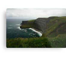 The Wall (Cliffs of Moher)  Metal Print