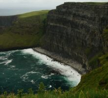 The Wall (Cliffs of Moher)  Sticker