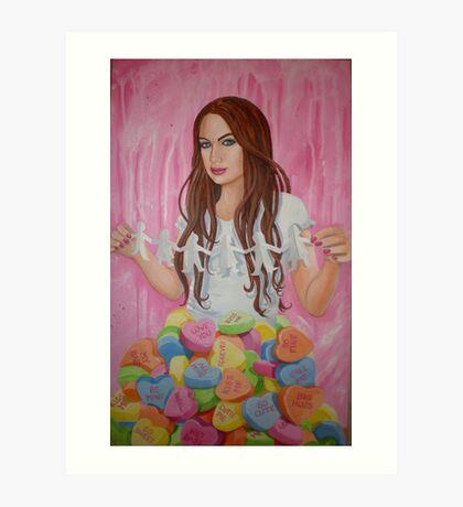 Danielle's Valentine Art Print