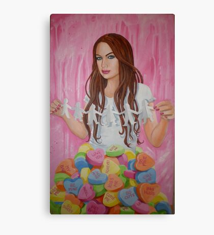 Danielle's Valentine Canvas Print