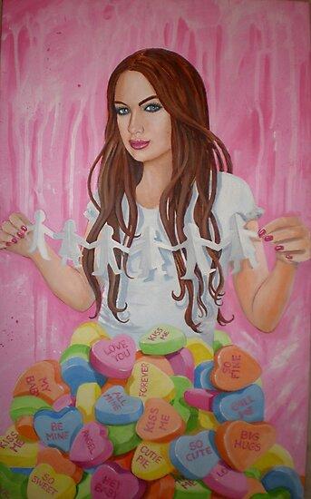Danielle's Valentine by nancy salamouny