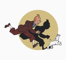 Tin tin & Snowy Kids Tee