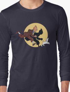 Tin tin & Snowy Long Sleeve T-Shirt
