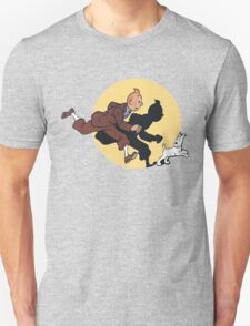 Tin tin & Snowy Unisex T-Shirt