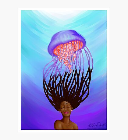 Jelly Hair Photographic Print