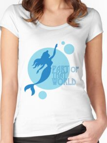 Part of That World Women's Fitted Scoop T-Shirt