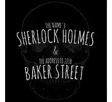 Sherlock Holmes 221B  Photographic Print