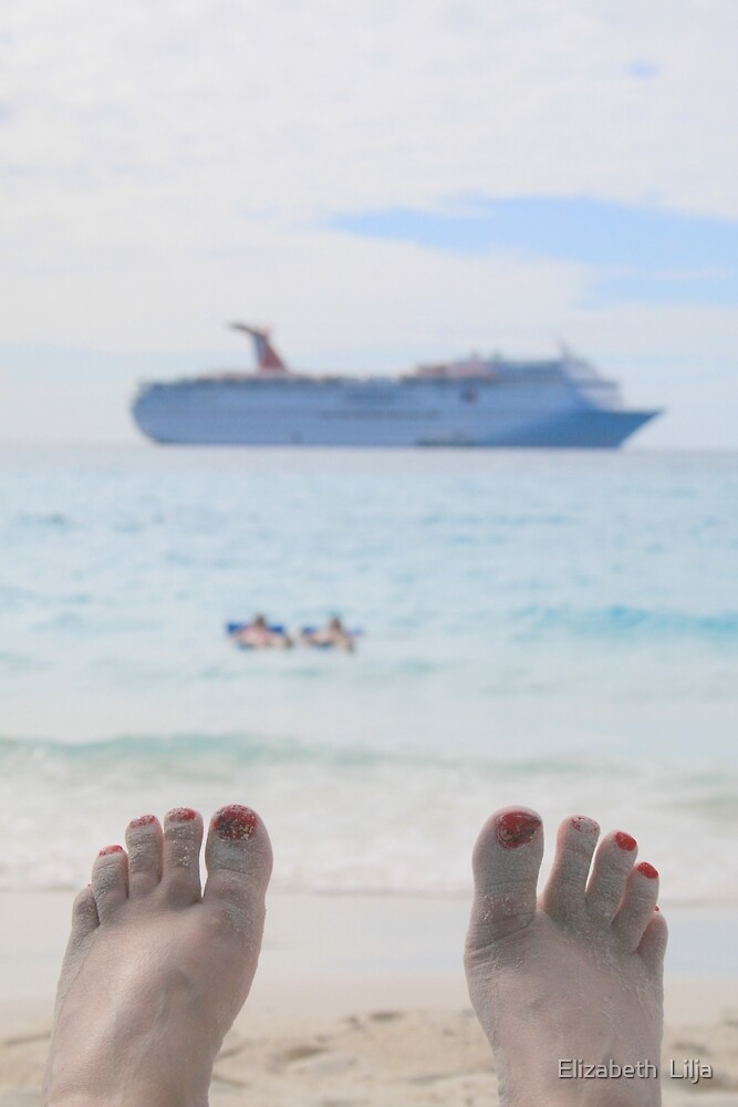 On Vacation by Elizabeth  Lilja