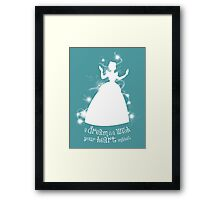A Dream is a Wish... Framed Print