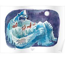 Yeti Mountain Poster
