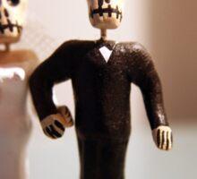 Day of the Dead Wedding #2 Sticker