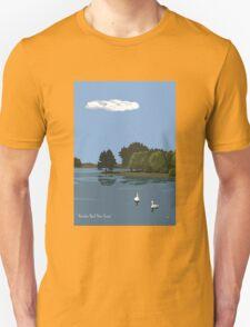 Hatchet Pond, New Forest Unisex T-Shirt