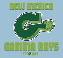 New Mexico GAMMA RAYS Kids Clothes