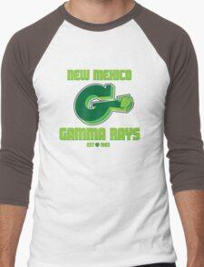 New Mexico GAMMA RAYS Men's Baseball ¾ T-Shirt