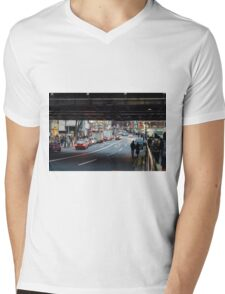 Shibuyascape Mens V-Neck T-Shirt