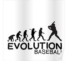 EVOLUTION OF BASEBALL Poster