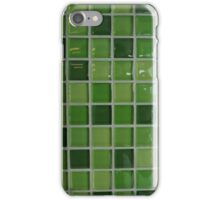 Green Tiles iPhone Case/Skin