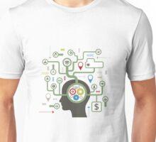 User a head Unisex T-Shirt