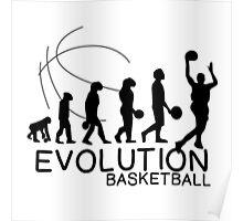 EVOLUTION OF BASKETBALL Poster