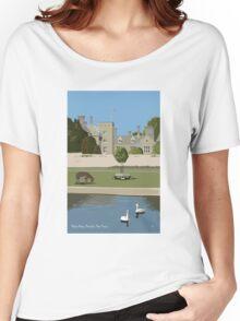 Palace House, Beaulieu Women's Relaxed Fit T-Shirt