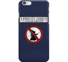 No magic allowed iPhone Case/Skin