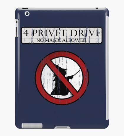 No magic allowed iPad Case/Skin
