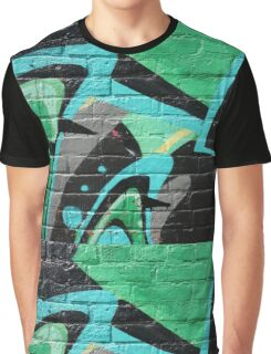 Graffiti Wall Graphic T-Shirt