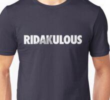 RiDAKulous (White/Silver Split) Unisex T-Shirt