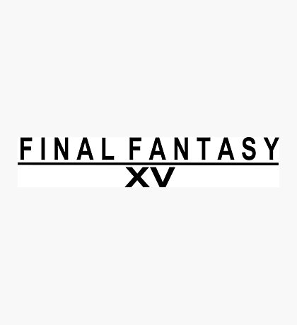 Final fantasy 15 Photographic Print