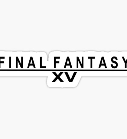 Final fantasy 15 Sticker