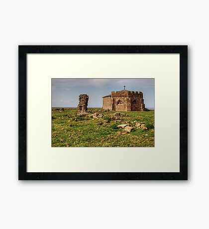 Chapter House,Cockersand Abbey Framed Print