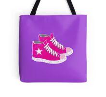 pink sneakers Tote Bag