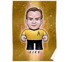 Kirk - Star Trek Caricature Poster