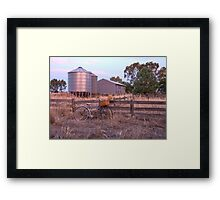 Out riding in the country.... Framed Print