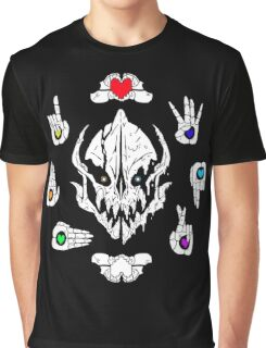 GASTER - God of Permadeath (FILLED) Graphic T-Shirt