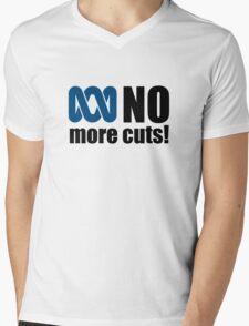 No more cuts! Mens V-Neck T-Shirt