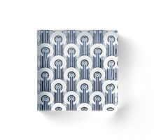Art Deco Pattern #1 Acrylic Block