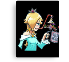 Rosalina drinks Canvas Print