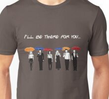 Friends Tv Show T-Shirt: I'll Be There For You Shirt Unisex T-Shirt