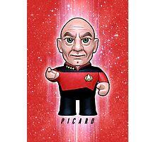 Picard - Star Trek Caricature Photographic Print