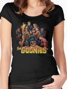 Goonies Retro Women's Fitted Scoop T-Shirt