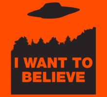 I Want to Believe by movieshirt4you