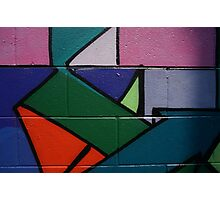 Colourful Geometric wall art Photographic Print