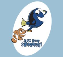 Just Keep Swimming! Kids Clothes