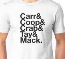 Silver & Black Squad T-shirt Unisex T-Shirt
