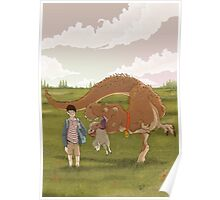 Timmy's dinosaur Poster