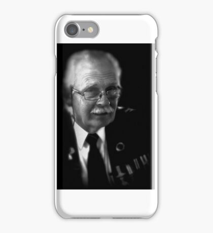 Laurie on Anzac Day  iPhone Case/Skin