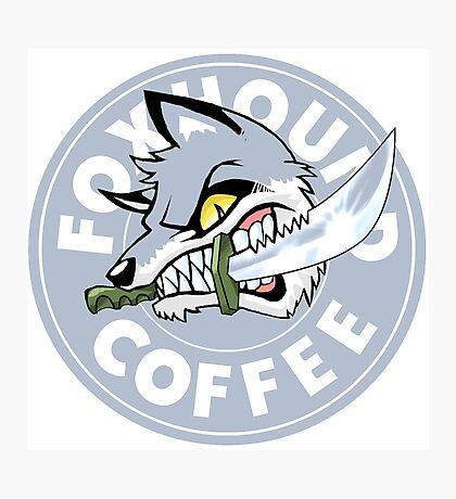 Foxhound Coffee - Silver Photographic Print