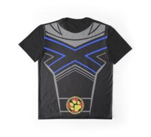 X-Pups Costume Shirt Blue Graphic T-Shirt